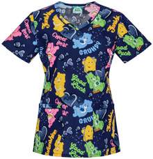 Care Bears Women's Scrub Top