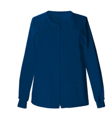 Chereokee Core Stretch : Womens 4315 Zip Front Warm Up Jacket*