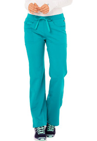 Code Happy Cloud Nine : Antimicrobial Protection ch000 Mid Rise Flare Leg Scrub Pant*