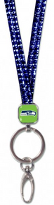 Seattle Seahawks Bling Lanyard