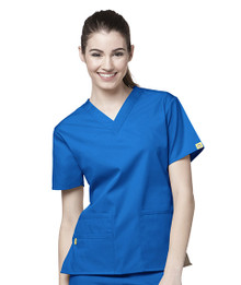 WonderWink Origins : V Neck Scrub Top For Women 6016*