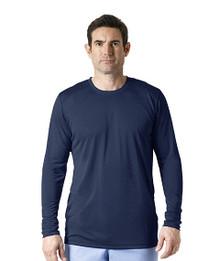 MEN : Work Dry Long Sleeve Layering Scrub Tee*