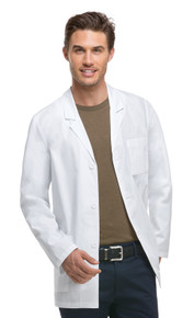 Dickies 81404 : Antimicrobial w/Fluid Barrier Lab Coat For Men
