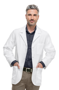 Cherokee Men's Antimicrobial w/Fluid Barrier Consultation Coat