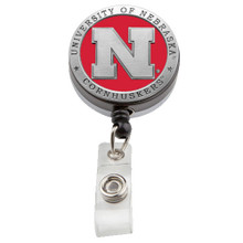 Nebraska Retractable Badge Reel
