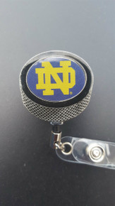 Notre Dame Badge Reel (Retractable)