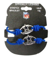 Dallas Cowboys Stretch Bracelet / Hair Tie