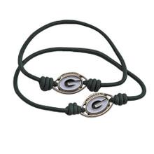 Green Bay Packers Stretch Bracelet / Hair Tie
