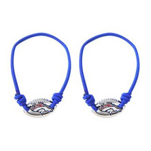 Denver Broncos Stretch Bracelet / Hair Tie