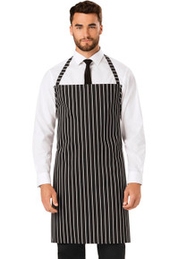 Bib Apron No Adjustable Strap*