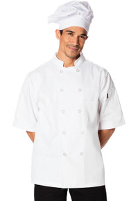 Classic Short Sleeve Chef Coat*