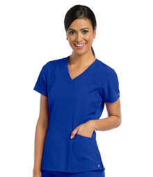 Barco ONE : 5106 V Neck Scrub Top For Women