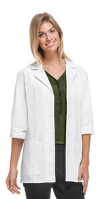 Cherokee Three Quarter Sleeve Antimicrobial/Fluid Barrier Lab Coat