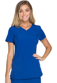 Heartsoul Break On Through Collection : Cross My Heart V Neck Scrub Top For Women - HS619*