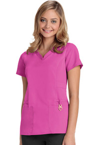 Heartsoul Head Over Heels Collection : Beloved Antimicrobial V neck scrub top*
