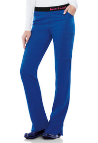 Heartsoul Head Over Heels Collection: So In Love Low Rise Antimicrobial Pull On Scrub Pant For Women*