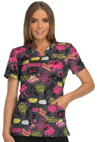 New Wonder Woman Scrub Top