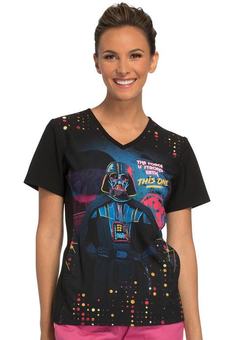 Darth Vader Star Wars Women S Scrub Top