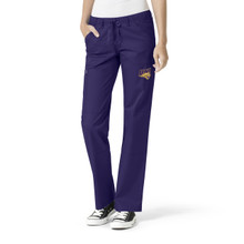 University of Northern Iowa Women's Grape Straight Leg Scrub Pants