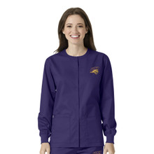 University of Northern Iowa Grape Warm Up Nursing Jacket