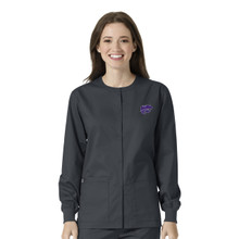 Kansas State Warm Up Nursing Scrub Jacket*