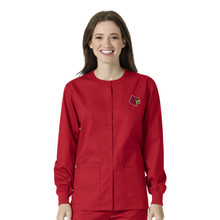 University of Louisville Women's Warm Up Nursing Jacket*