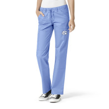 University of North Carolina Tar Heels Women's Straight Leg Cargo Scrub Pants*