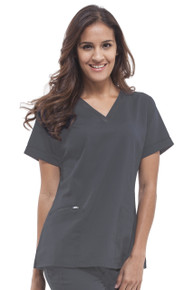 Healing Hands V Neck Scrub Top for Women*