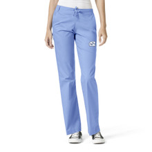 University of North Carolina Tar Heels Women's Flare Leg Scrub Pants*