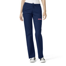 Ole Miss Women's Flare Leg Scrub Pants*
