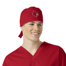 University of Louisville Cardinals Scrub Cap for Men*