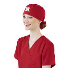 University of Nebraska Cornhuskers Scrub Cap for Women*