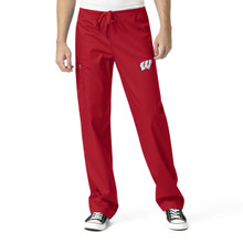 Wisconsin Badger's Men's Cargo Scrub Pants*