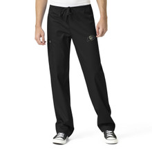 University of Colorado Buffaloes Black Men's Cargo Scrub Pants