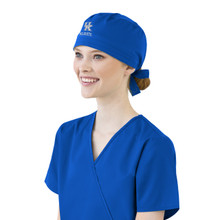University of Kentucky Wildcats Royal Scrub Cap for Women