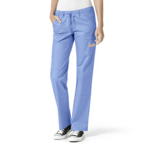 UCLA- Bruins Women's Ciel Cargo Straight Leg Scrub Pants