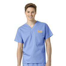 UCLA-Bruins Ciel Men's V Neck Scrub Top