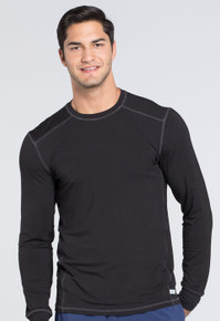 Infinity : Mens Antimicrobial Long Sleeve Layering Scrub Tee*
