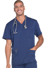 Dickies Dynamix : Men's V Neck Scrub Top*