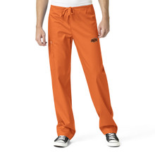 Oklahoma State- Cowboys Orange Men's Cargo Scrub Pants