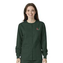 University of Miami Hurricanes Women's Warm Up Nursing Jacket