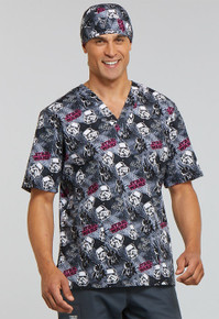 Storm Troopers Scrub Top for Men