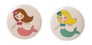 Mermaid Button