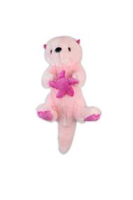 """Pink Sea Otter Stuffy 6.5"""""""