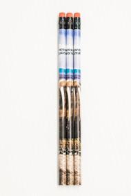 Pencil with walrus design