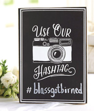 Mud Pie Wedding Hashtag Sign