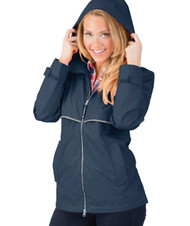 New England Rain Jacket - NAVY