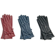 Mud Pie Faux Leather Gloves