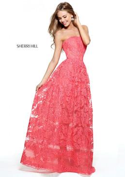 Sherri Hill 50878 Lace Dress