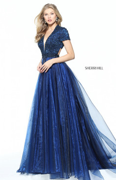 Sherri Hill 50976 Short Sleeve Dress